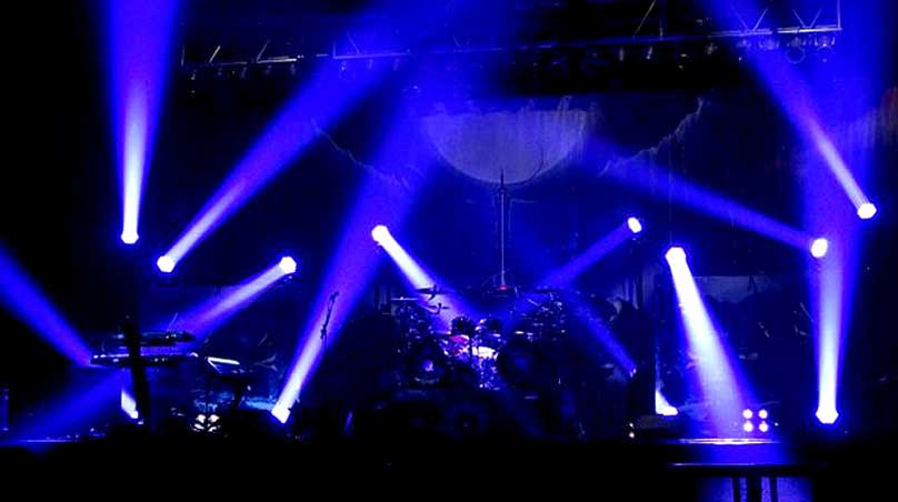 Stage Lighting For Nightwish Concert Tour