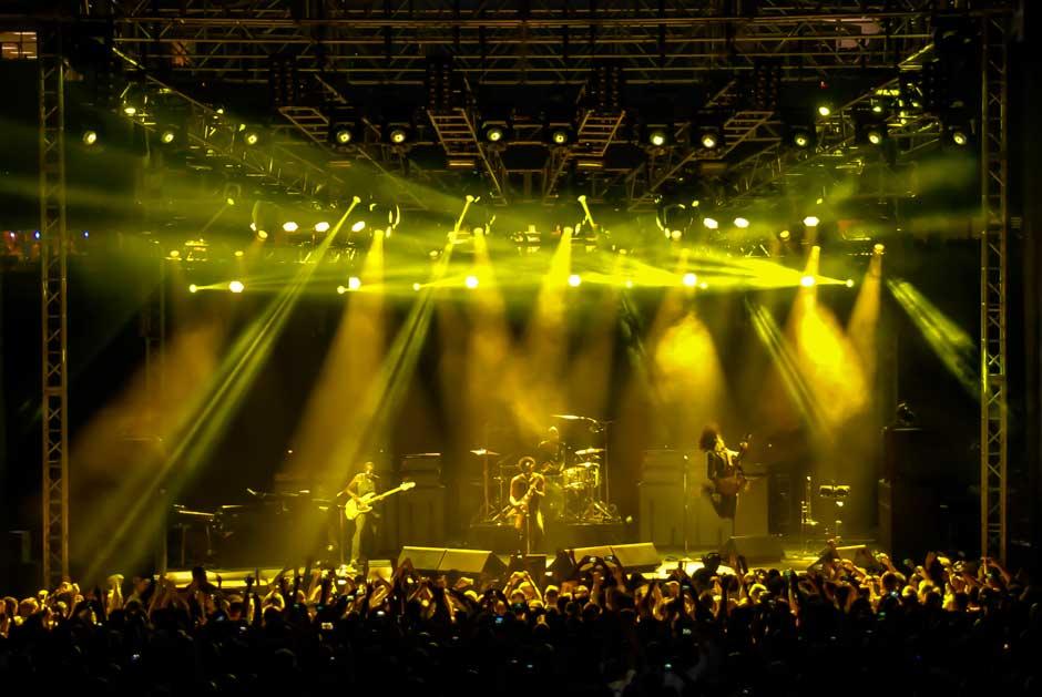Microsoft Worldwide Partner Conference performance concert lighting