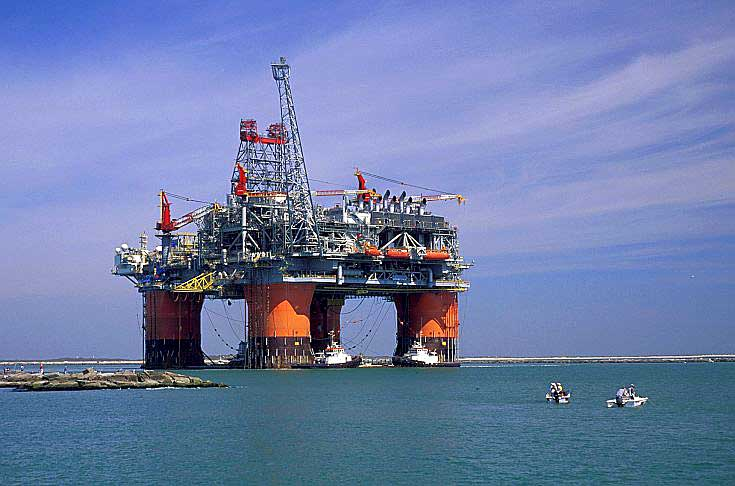 Offshore Platform Launch