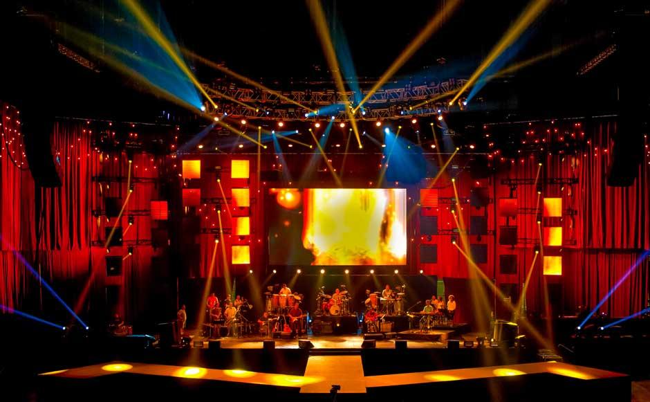 People En Espanol Festival stage lighting