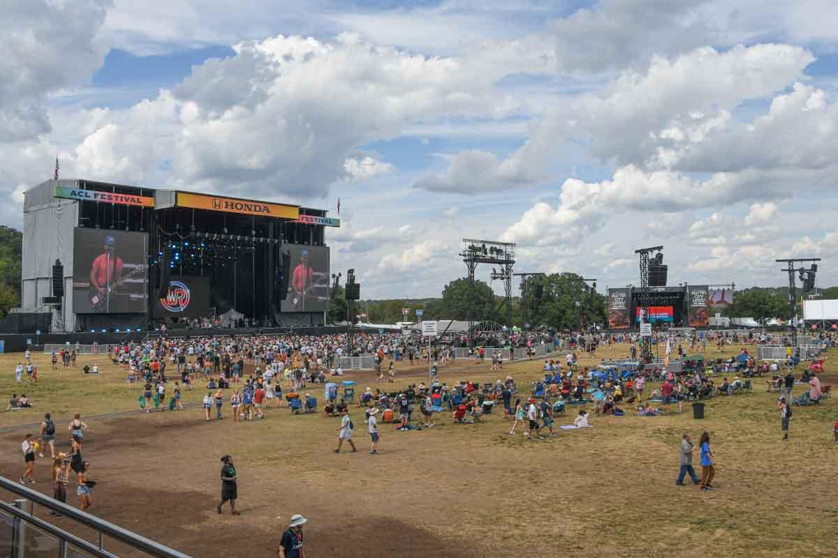 Austin City Limits Music Festival Audio Delay TowerPositions