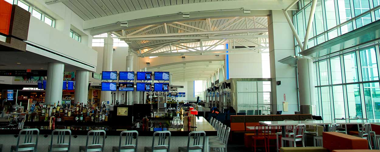 LD Systems Audio Distribution System Airport Terminal
