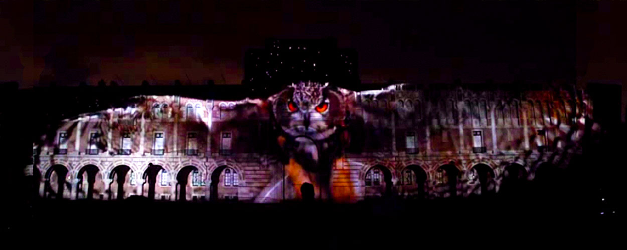 3D Video Projection Mapping Rice University