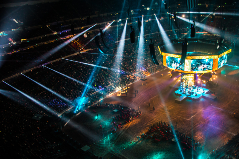 Ld Systems Provides Stage Lighting For Houston Rodeo