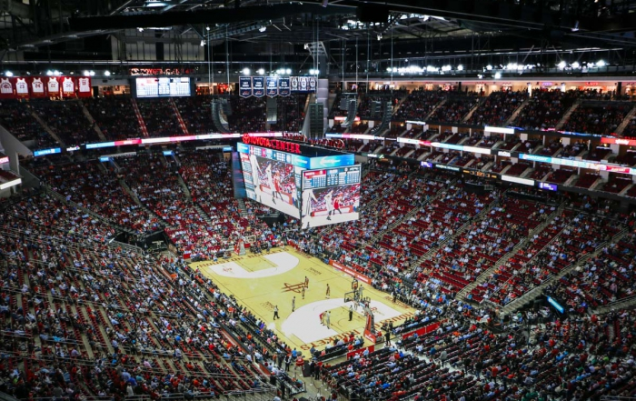 World&#8217;s First L-ACOUSTICS K2 Arena System<br />Installed at Toyota Center in Houston