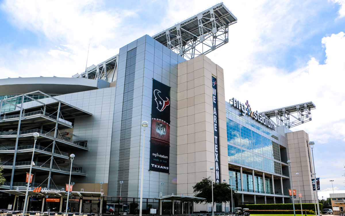 Houston NRG Stadium exterior