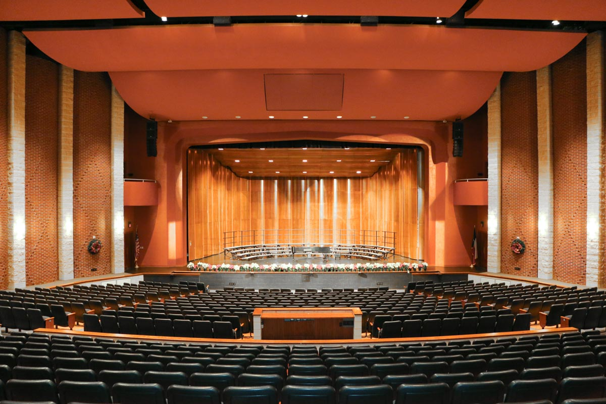 Deer Park High School Performing Arts Center L-Acoustics Main Arrays Audio System