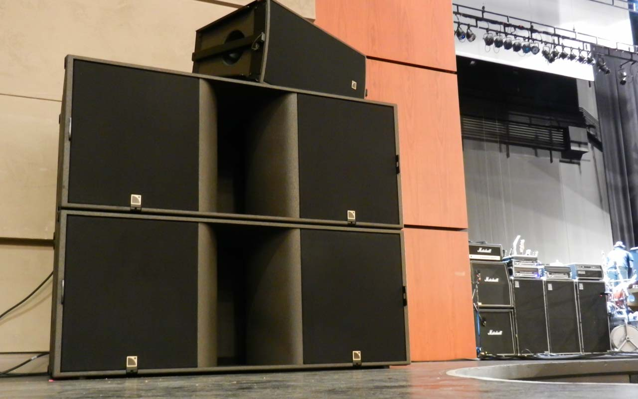 Wagner Noel Performing Arts Center audio L-Acoustic KS28 subwoofers