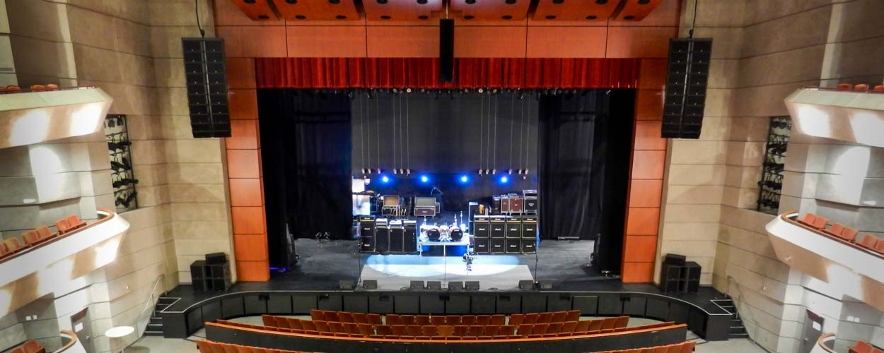 LD Systems Audio System Integration at the Wagner Noel Theater