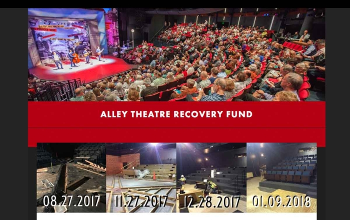 Alley Theatre Recovery Fund<br>LD Systems AV Integration Team Wraps Up for Re-Opening