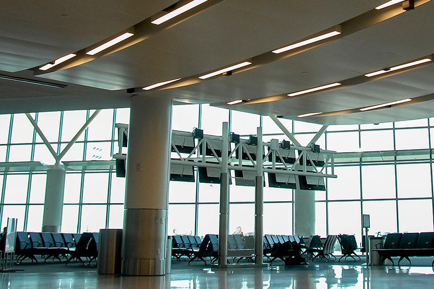 Airport audio system integration