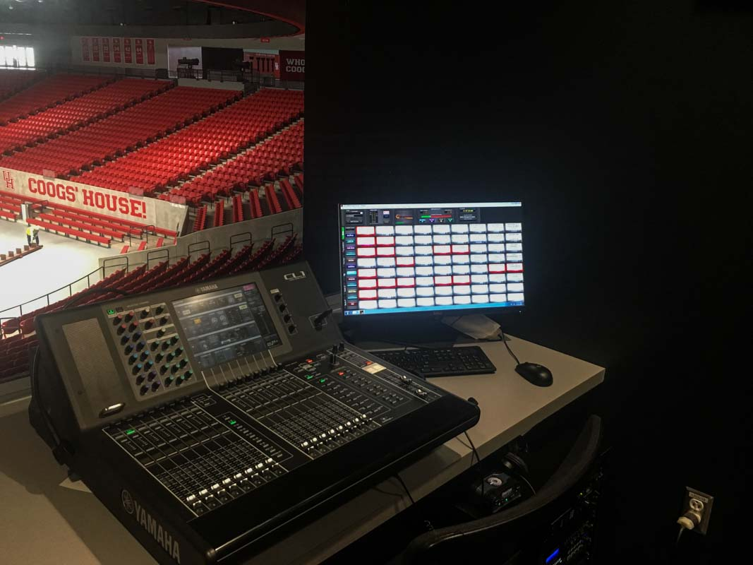 LD Systems Audio Console Fertitta Center