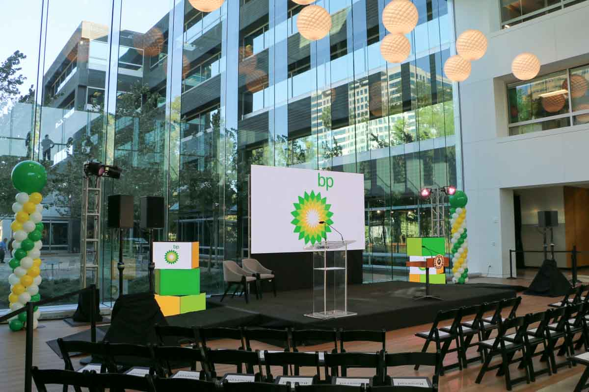 BP America Westlake One stage equipment left perspective