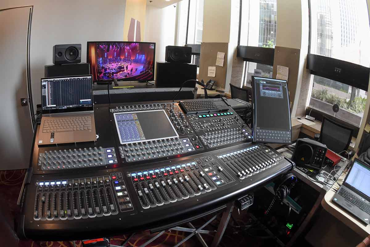 LD Systems Audio Control Console