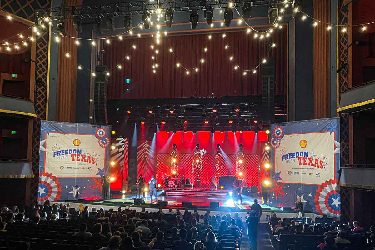 Freedom Over Texas Concert broadcast TV production