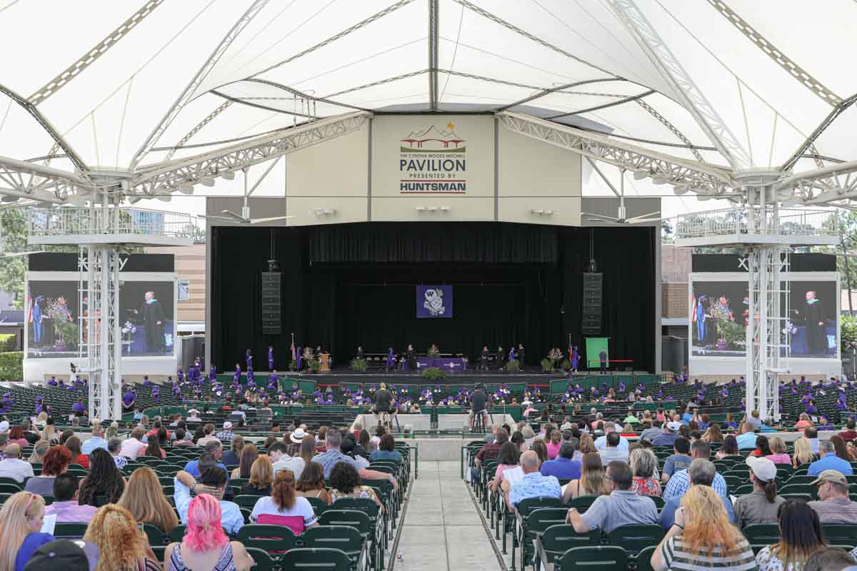 Event production Willis HS Graduation