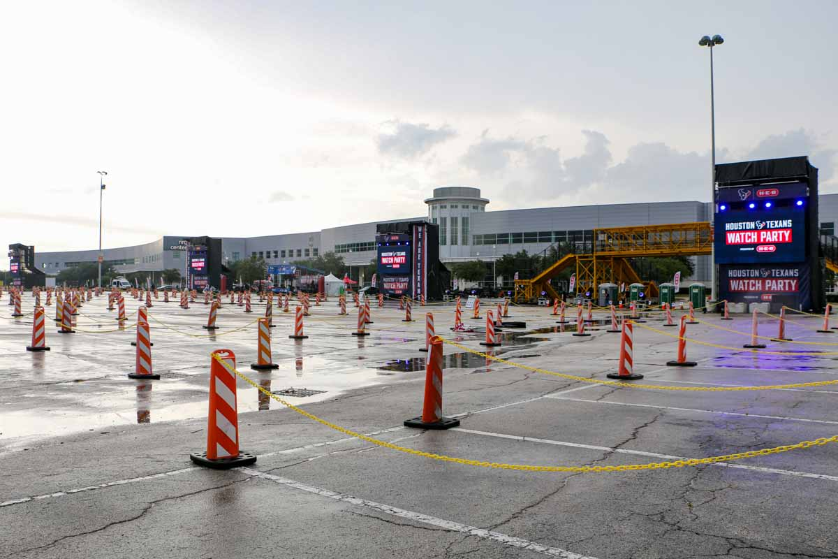 Texans Drive-In Event at NRG Park