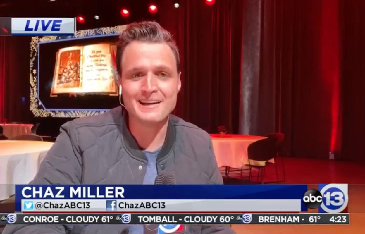 ABC 13 Journalist Chaz Miller