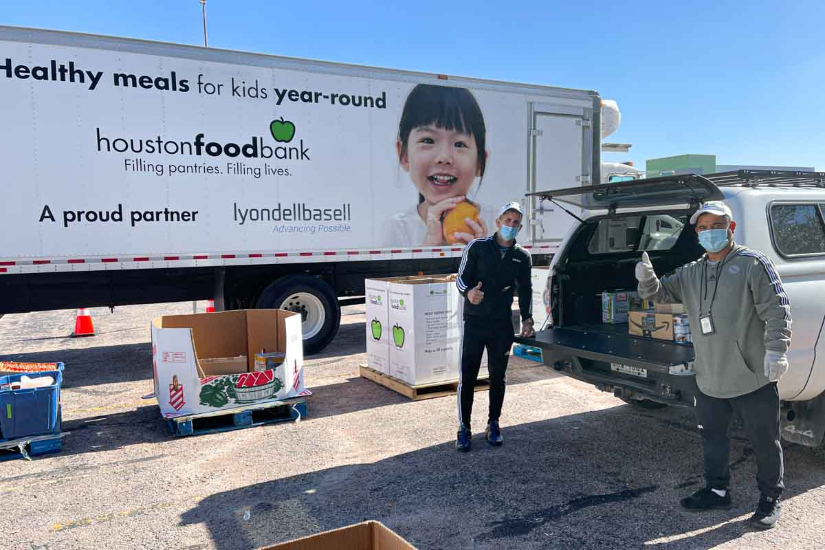 LD Systems Donating to Houston Food Bank