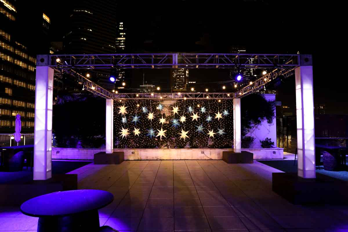 Outdoor Scenic Lighting Stage Truss