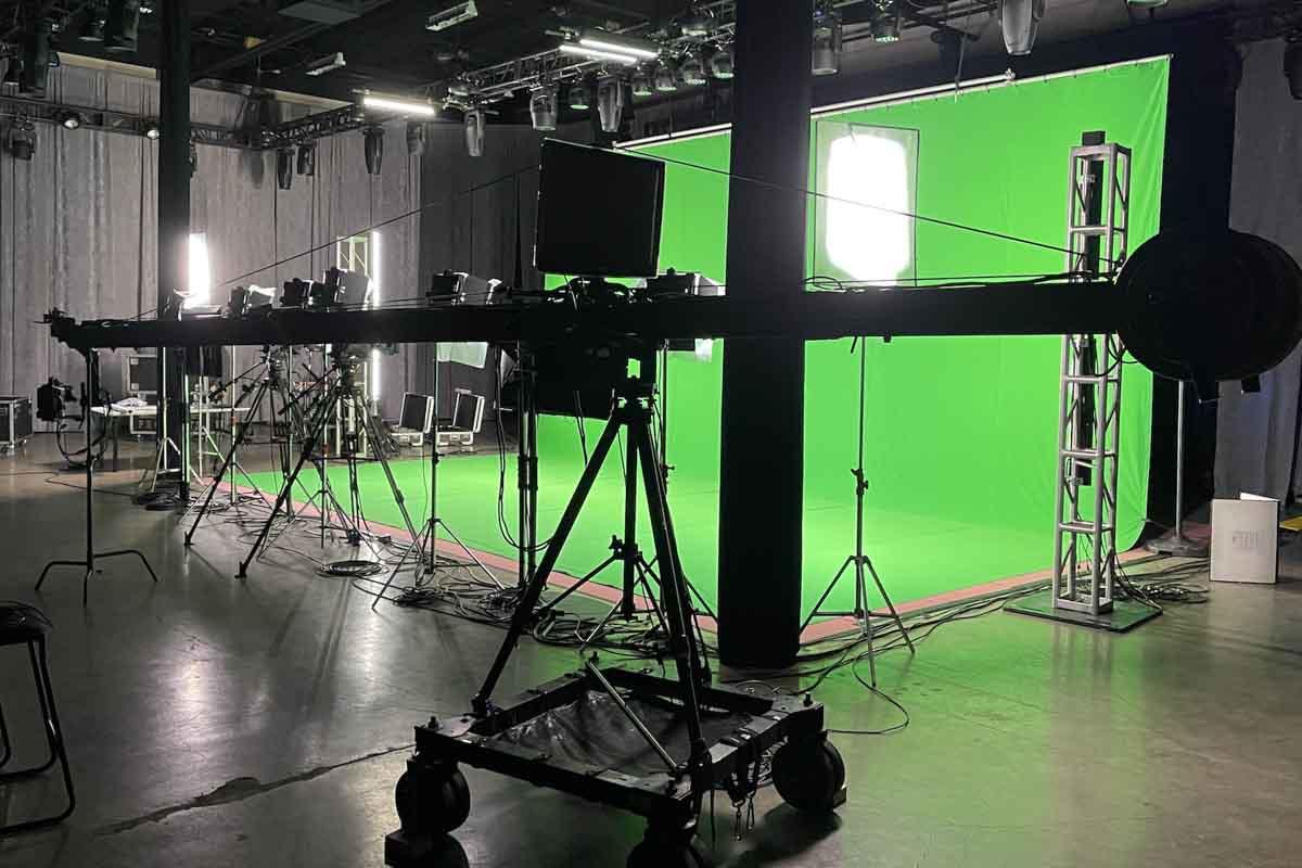 Green Screen Camera Jib
