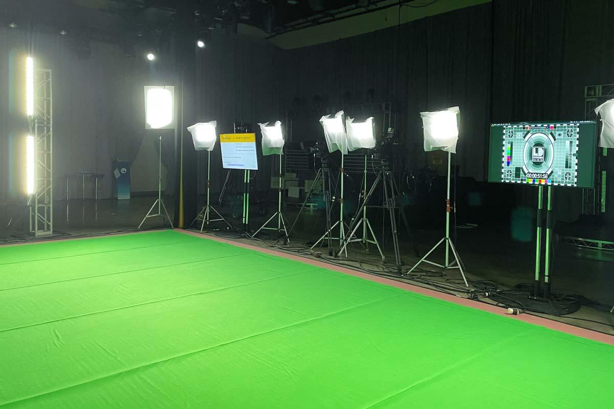 Green Screen Lighting