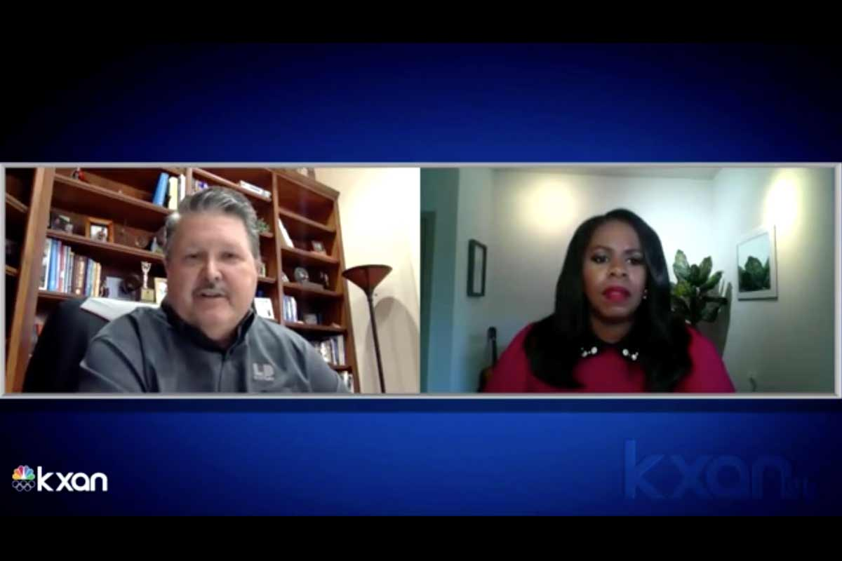 KXAN video interview with LD Systems