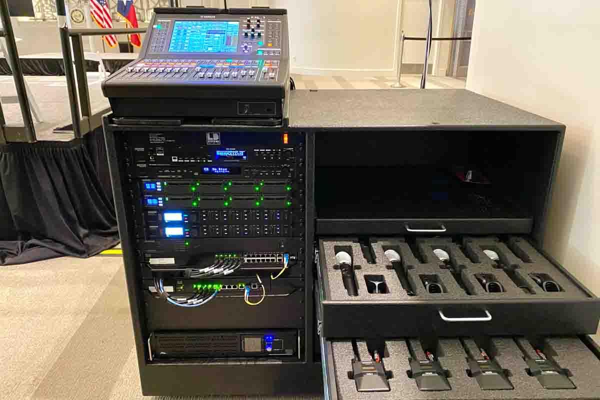 Audio Rack and Custom Case