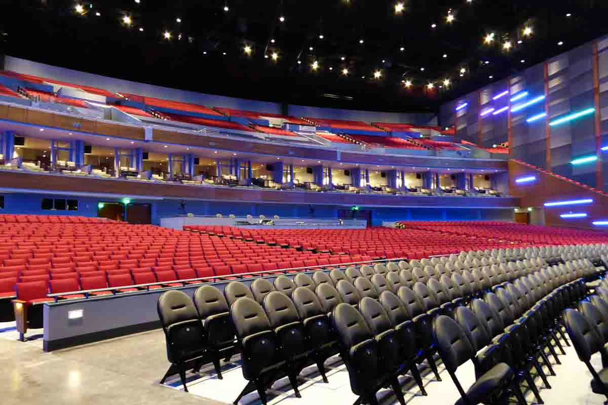Smart Financial Centre seating and AV control