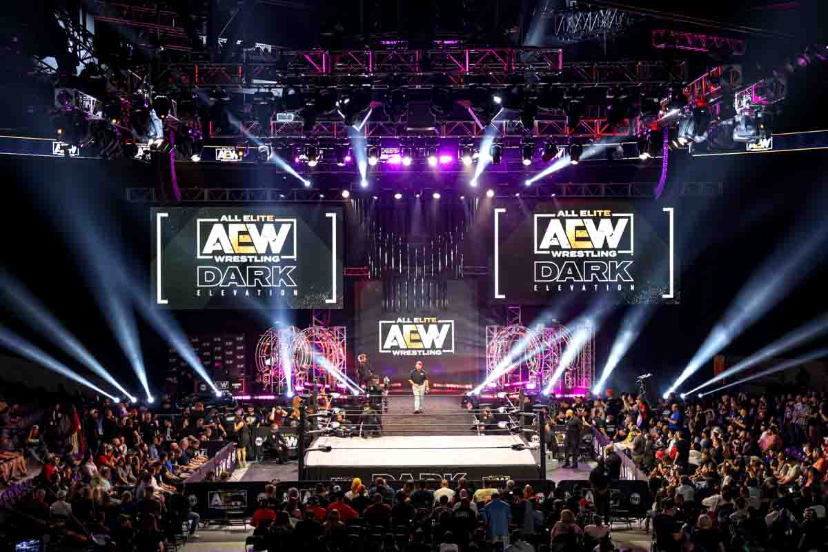 AEW Live Event Stage Lighting